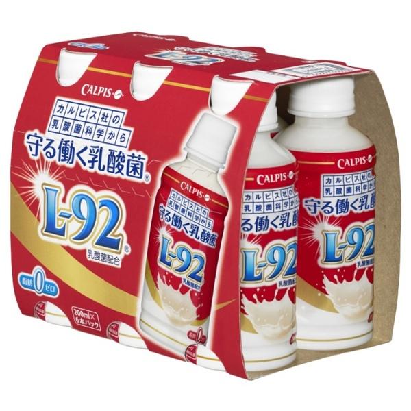 【機能性表示食品】カルピス 守る働く乳酸菌 200ml 6本入り×4ケース 【クレジット決済のみ】(KT)