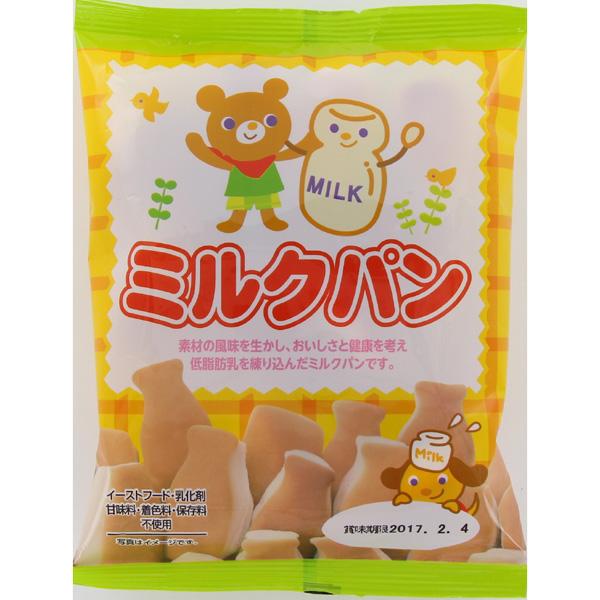 カネ増製菓 低脂肪乳ミルクパン 80g×12個 (1ケース) (YB)
