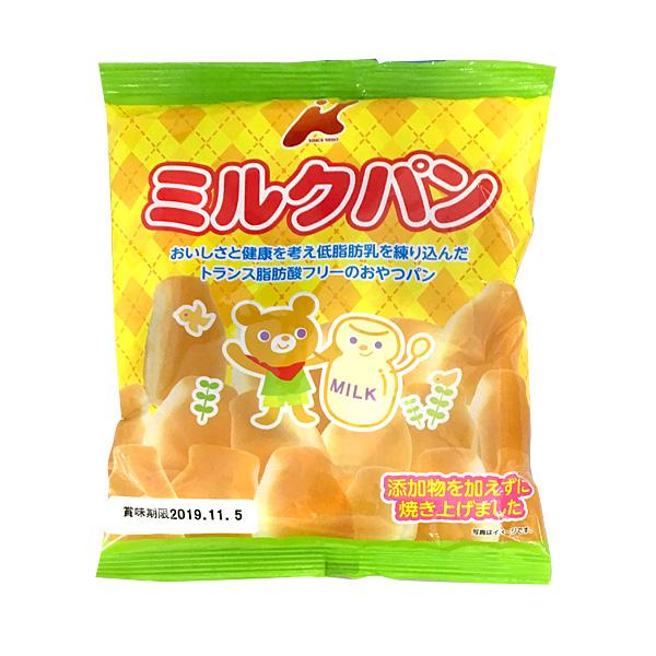 カネ増製菓 低脂肪乳ミルクパン 75g×16袋(1ケース)(YB)