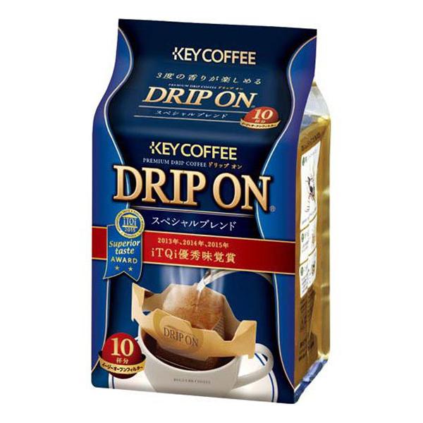 キーコーヒー ドリップオン スペシャルブレンド 80g (8g×10/パック)(1ケース6パック) (MS)【クレジット決済のみ】