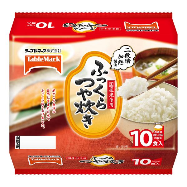 送料無料 たきたてご飯ふっくらつや炊き 10食×4(40食)(テーブルマーク)(MS)