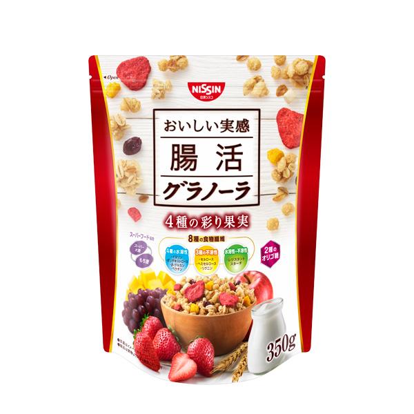日清シスコ 腸活グラノーラ 350g×6個入り (1ケース) (KT)