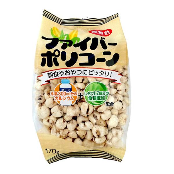 坂金製菓 ファイバーポリコーン 170g×12個 (1ケース) (YB)