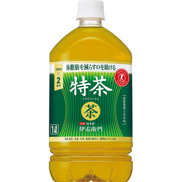 伊右衛門 特茶(特定保健用食品) 1L×12本入り (1ケース)(KT)
