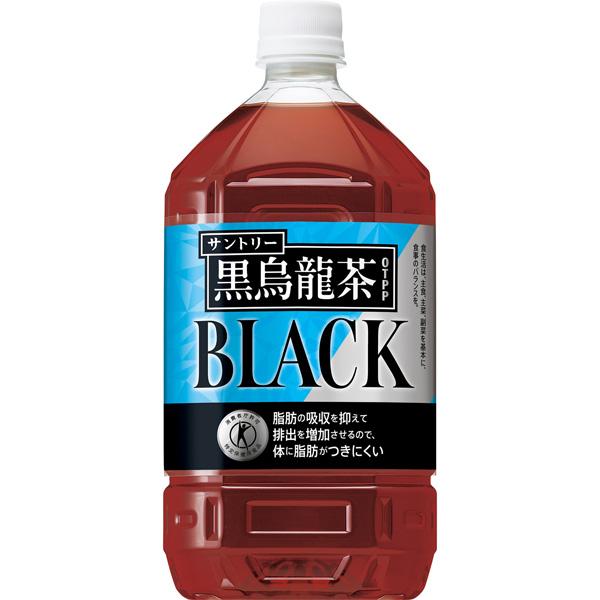 送料無料 サントリー 黒烏龍茶(特定保健用食品) PET 1050ml(1ケース12本) (KT)