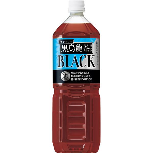 送料無料 サントリー 黒烏龍茶(特定保健用食品) PET 1400ml(1ケース8本) (KT)