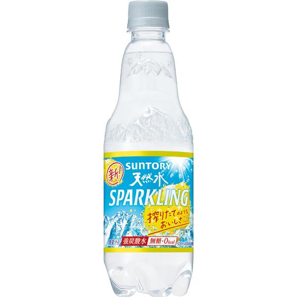 サントリー 南アルプススパークリングレモン 500ml×24 KK