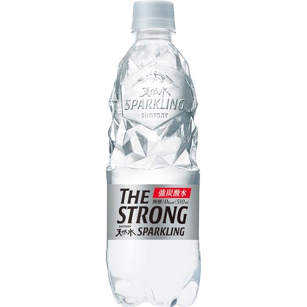 サントリー ザストロング天然水スパークリング 510ml×24本入り (1ケース) (KT)