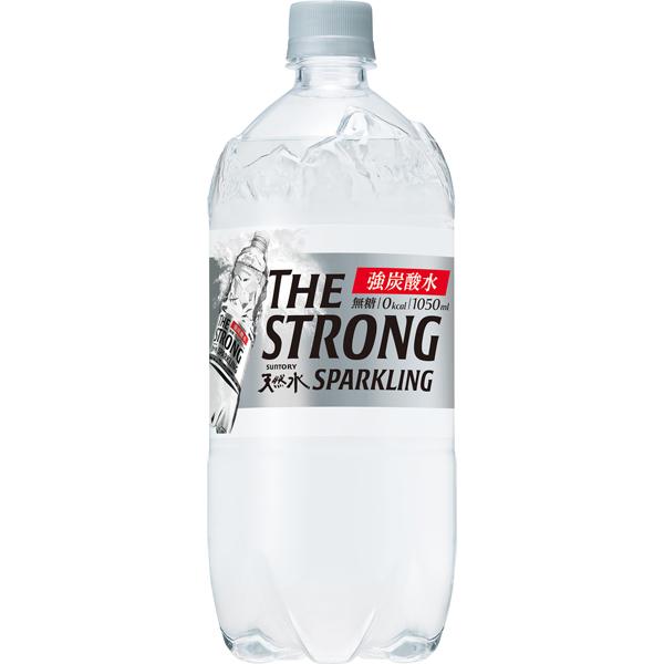 サントリー ザストロング天然水スパークリング 1.05L×12本入り (1ケース) (KT)