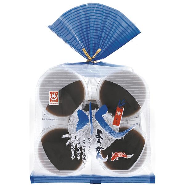 杉本屋 水ようかん 煉 325g(65g×5個) 12袋 (1ケース)(YB)