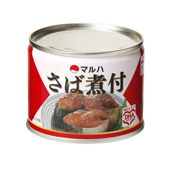 マルハニチロ さば煮付 24缶入1ケース【クレジット決済のみ】(MS)