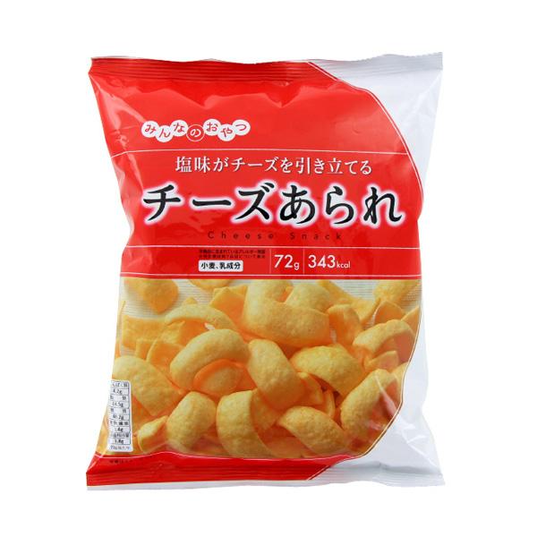 モントワール みんなのおやつ チーズあられ 72g×12個入り (1ケース) (YB)