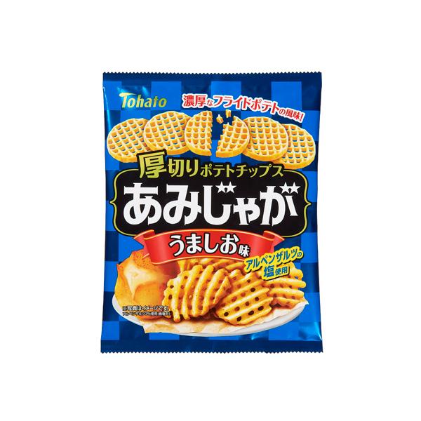東ハト あみじゃがうましお味 60g×12個入り (1ケース) (YB)