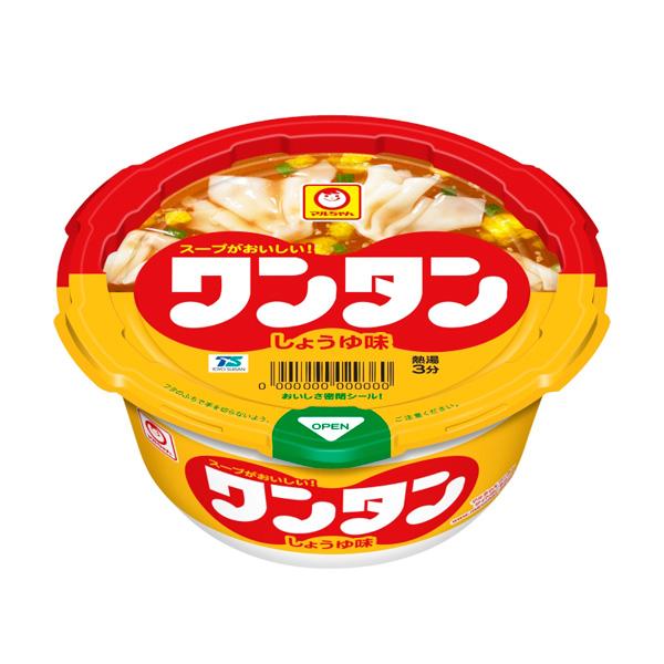 マルちゃん ワンタン しょうゆ味 32g×12 (KK)【クレジット決済のみ】