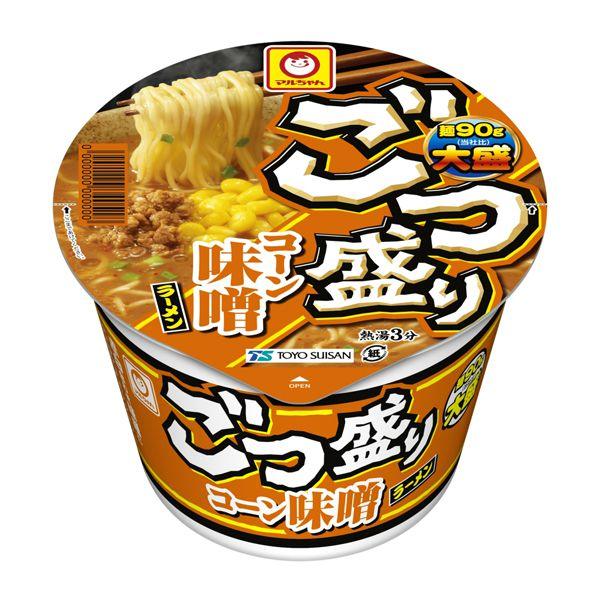 マルちゃん ごつ盛り コーン味噌ラーメン 138g×12 (KK)【クレジット決済のみ】