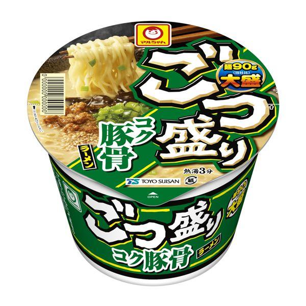 マルちゃん ごつ盛り コク豚骨ラーメン 115g×12 (KK)【クレジット決済のみ】