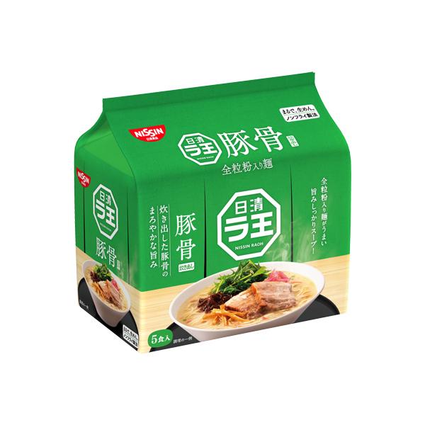 日清ラ王 豚骨 5食パック 415g×6個入り (1ケース) (MS)