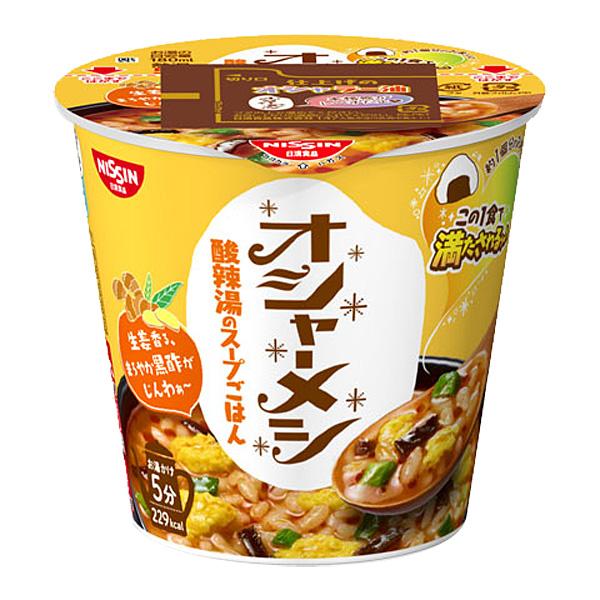 日清オシャーメシ 酸辣湯のスープごはん 57g×12個入り (1ケース) (KT)