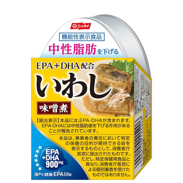 日本水産 EPA配合 いわしみそ煮 100g×24個 【機能性表示食品】 (AH)