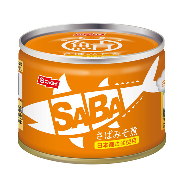 さばみそ煮 SABA 150g 24缶入(1ケース)【クレジット決済のみ】(MS)