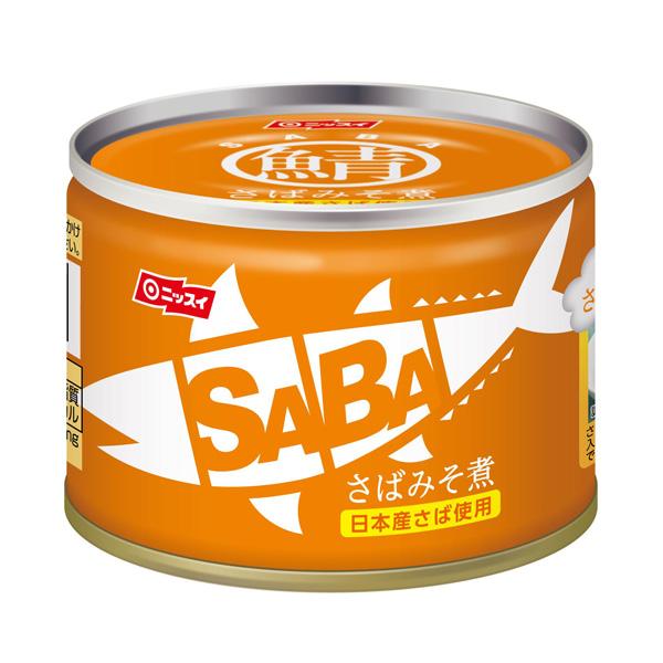 さばみそ煮 SABA 150g 24缶入(1ケース)(AH)