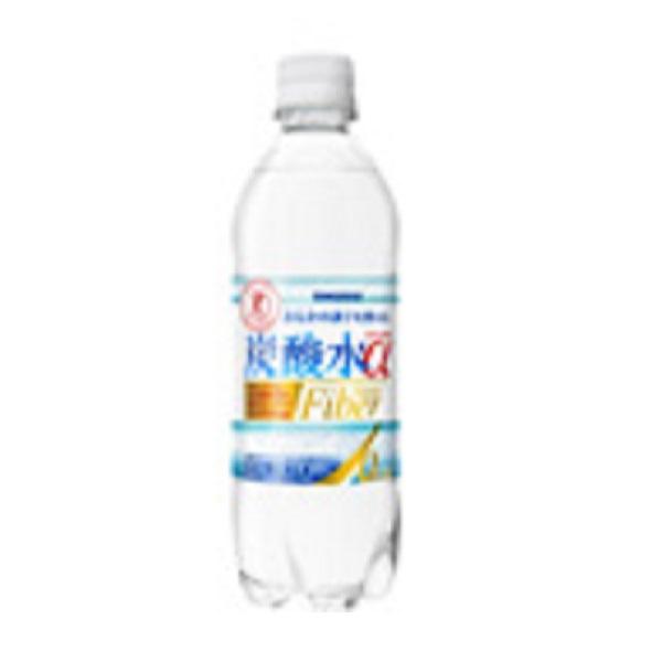 【特定保健用食品】サンガリア ミラクルエ炭酸水スパークオーα 500ml 24本入り×1ケース (KT)