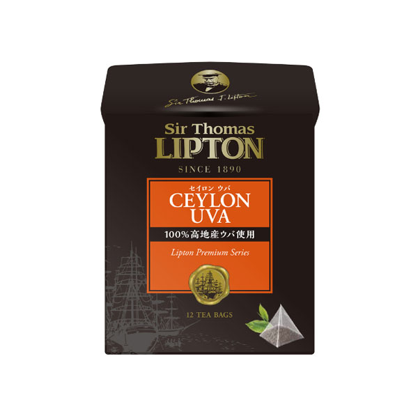 送料無料 サー・トーマス・リプトン セイロン ウバ ティーバッグ 12袋 36個(1ケース) (MS)