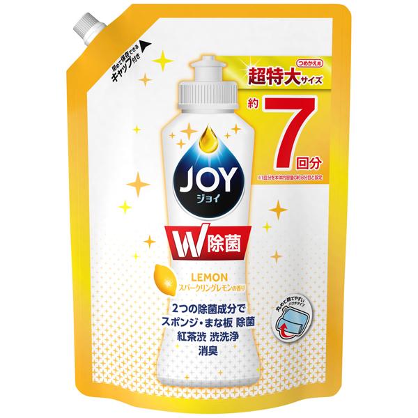 P&G 除菌ジョイコンパクト スパークリングレモンの香り つめかえ超特大 960ml(PP)