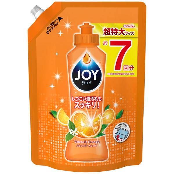 P&G ジョイコンパクト バレンシアオレンジの香り つめかえ超特大 1065ml(PP)