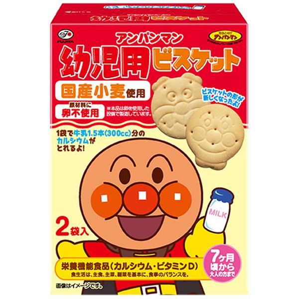 不二家 アンパンマン幼児用ビスケット 84g×40個入り (1ケース) (SB)