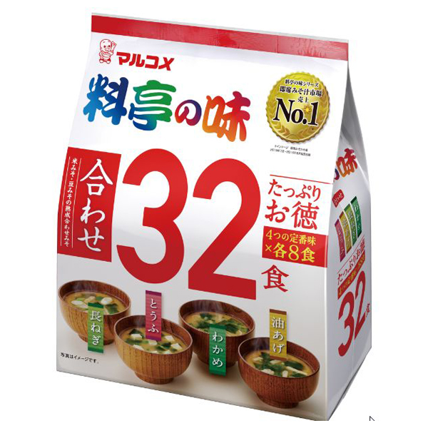たっぷりお徳 料亭の味 32食(1ケース6個) (MS)