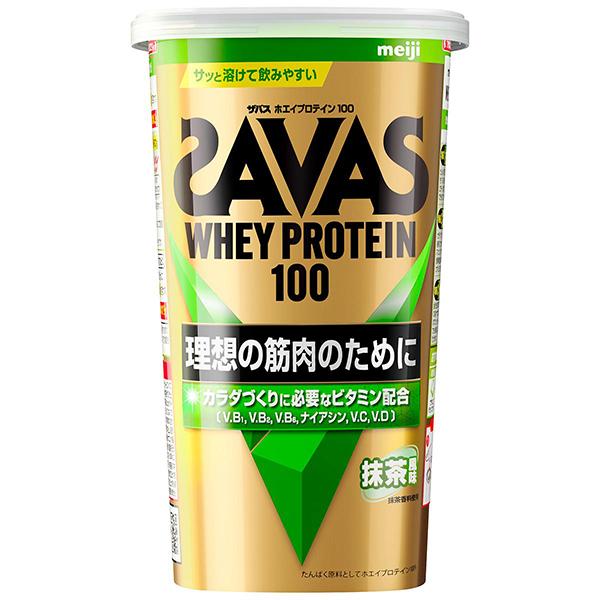 ザバス ホエイプロテイン100 抹茶 14食分