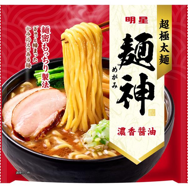 明星 麺神 濃香醤油 120g×20個入り×2箱 (計40個)(AH)
