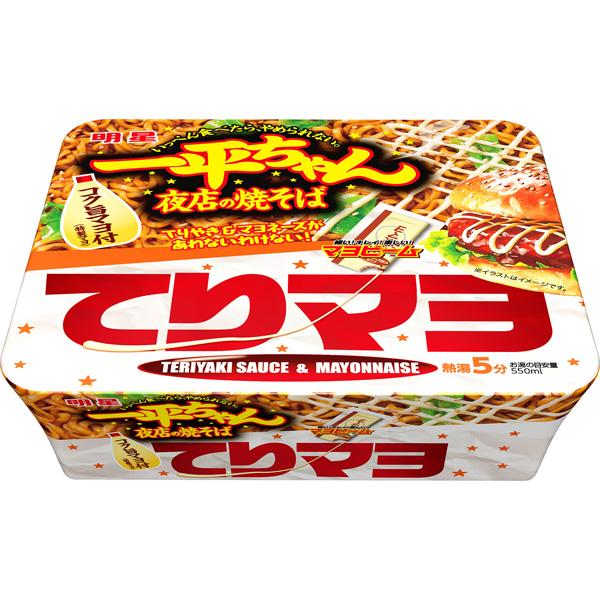 明星 一平ちゃん夜店の焼そば てりマヨ 114g×12個入り (1ケース) (MS)