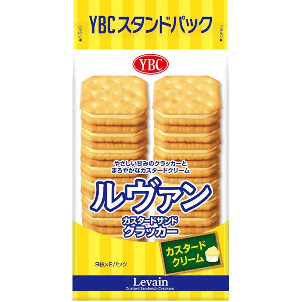 YBC ルヴァンカスタードサンド 18枚×10個 (YB)