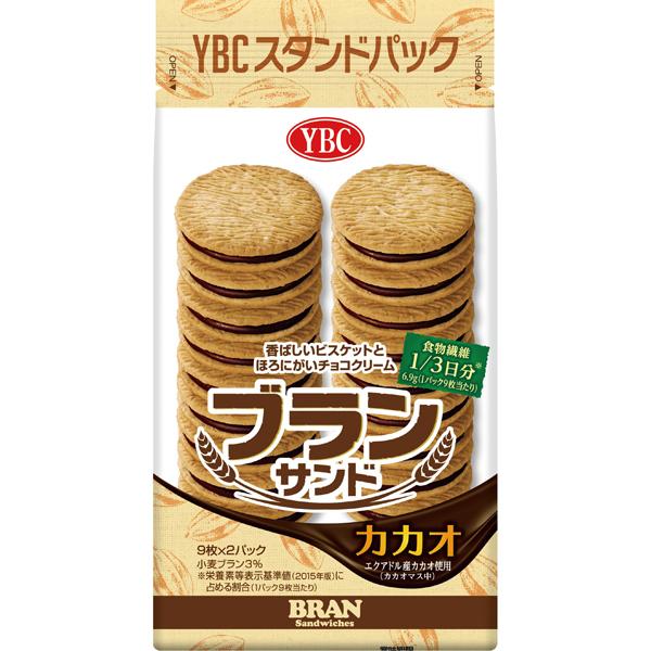 YBC ブランサンドカカオ 18枚×10個 (YB)【クレジット決済のみ】