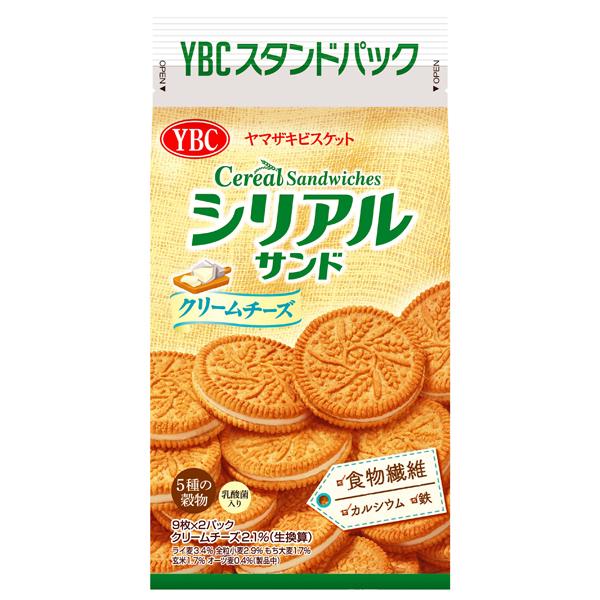 YBC シリアルサンドクリームチーズ 18枚×10袋入り (1ケース) (YB)