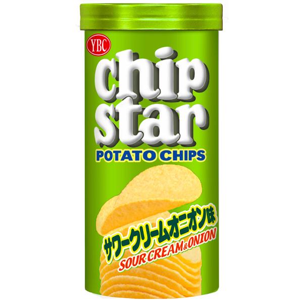 YBC チップスターSサワークリームオニオン味 50g×48個入り (1ケース) (YB)