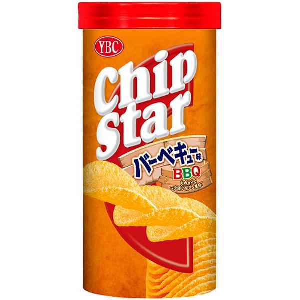 YBC チップスターSバーベキュー味 50g×48個入り (1ケース) (YB)