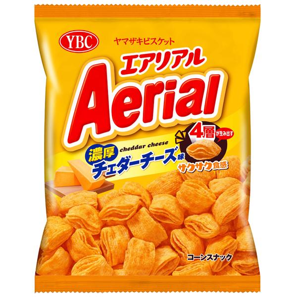 YBC エアリアル濃厚チェダーチーズ味 70g×12個入り (1ケース) (YB)