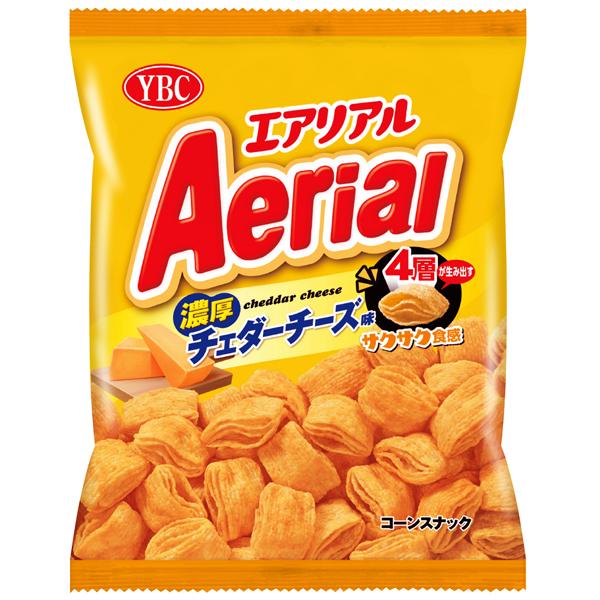 YBC エアリアル濃厚チェダーチーズ味 70g×10個 (YB)