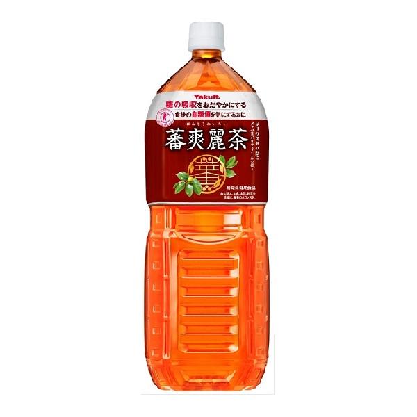 送料無料 蕃爽麗茶 PET2000ml(1ケース6本) (MS)