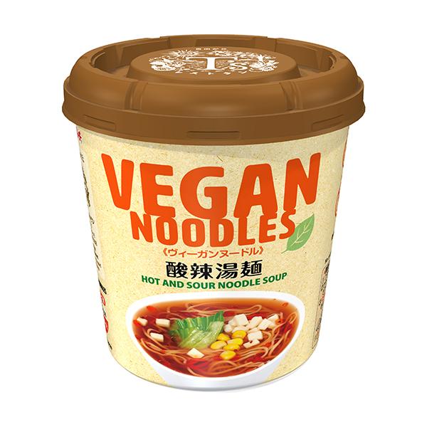 ヴィーガンヌードル酸辣湯麺 56g×12個入り (1ケース) (MS)