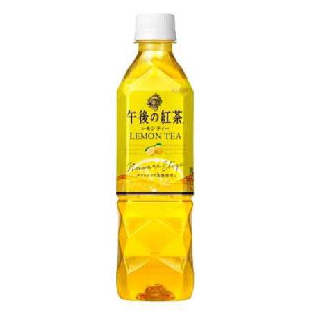 キリン 午後の紅茶レモンティー 500ml×24本入り (1ケース)(MS)