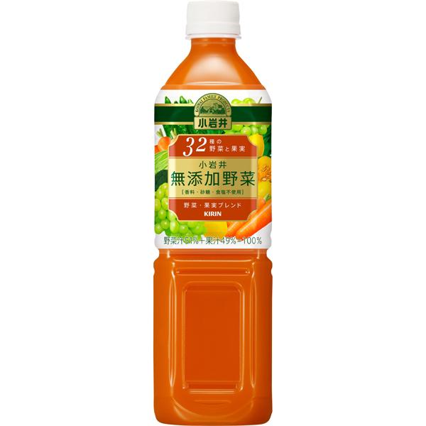 キリン 小岩井 無添加野菜 32種野菜と果実 PET 930g×24本入り (2ケース) (MS)