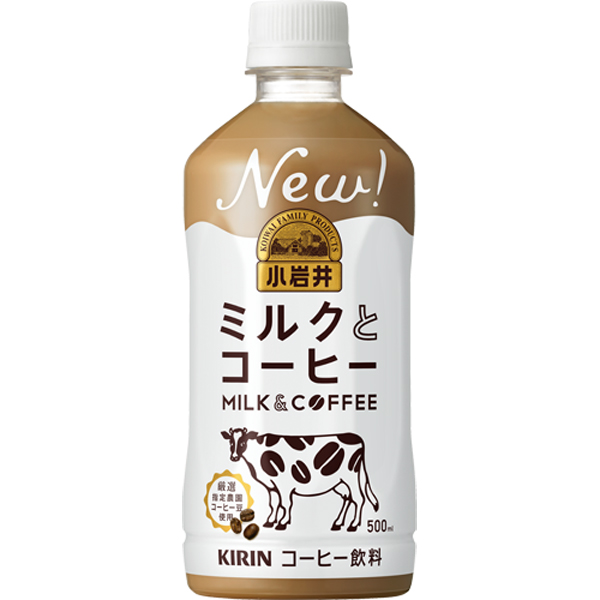 キリン 小岩井 ミルクとコーヒーP 500ml×24本入り (1ケース) (MS)