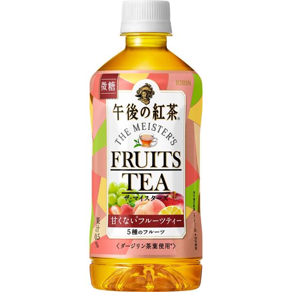キリン 午後の紅茶 ザ・マイスターズ フルーツティー 500ml×24本入り (1ケース) (AH)