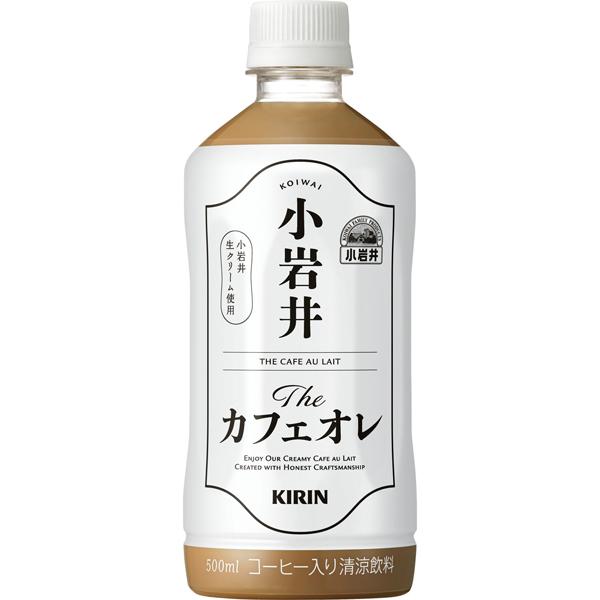 キリン 小岩井 Theカフェオレ 500ml×24本入り (1ケース)(AH)