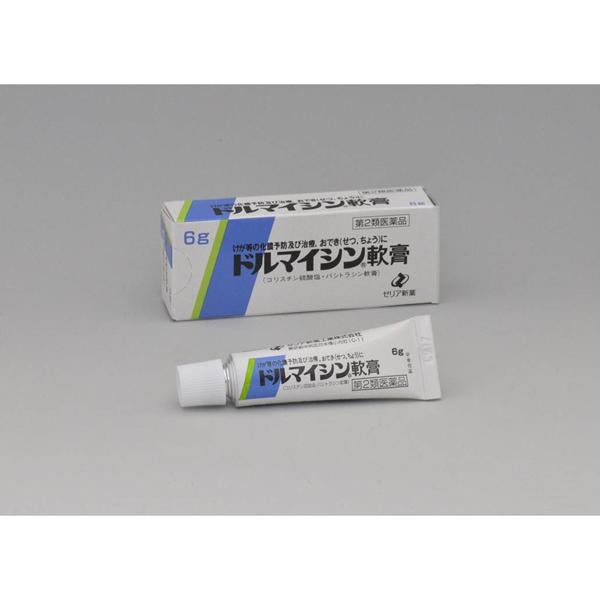 【第2類医薬品】ドルマイシン軟膏 6g