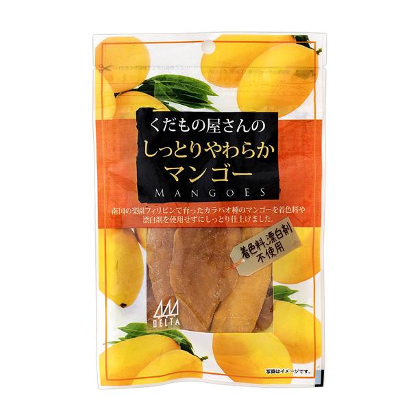 デルタ くだもの屋さんのしっとりやわらかマンゴー 80g×10個入り (1ケース) (YB)